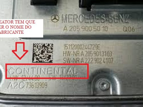 reator mercedes c180